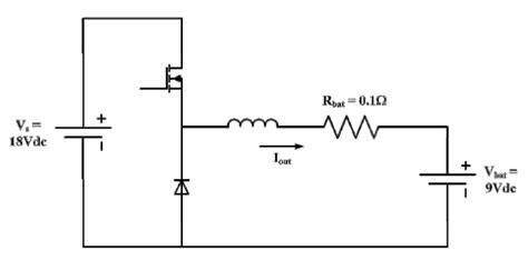 buck converter without inductor the buck converter shown below is used to charge chegg