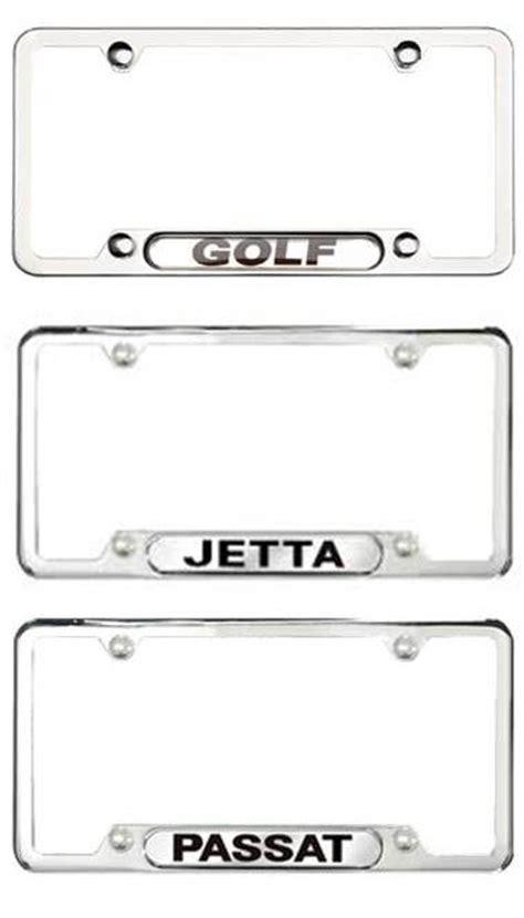 Frame Lf 2187 Pg vw license plate frames volkswagen vw