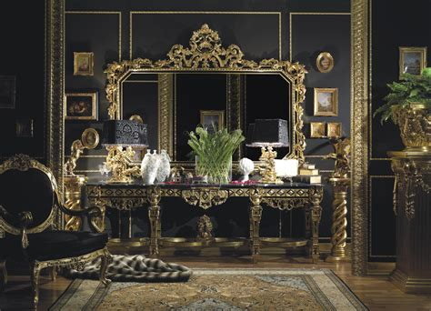 italian interior design dreams house furniture 187 hand carved italian console in gold leaf finishtop and