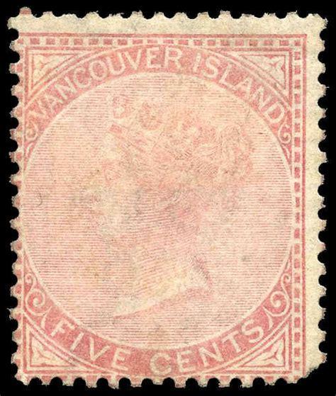 libro vancouver island itm r v british columbia 5 queen victoria 1865 5 162 mint very good original gum m vgog 007