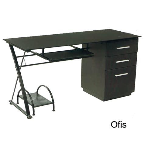escritorio vidrio escritorio recto vidrio blanco de oficina bogota colombia