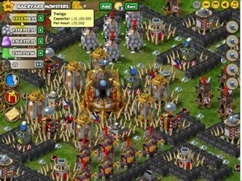 backyard monsters best base backyard monster level 9 town hall and my base youtube