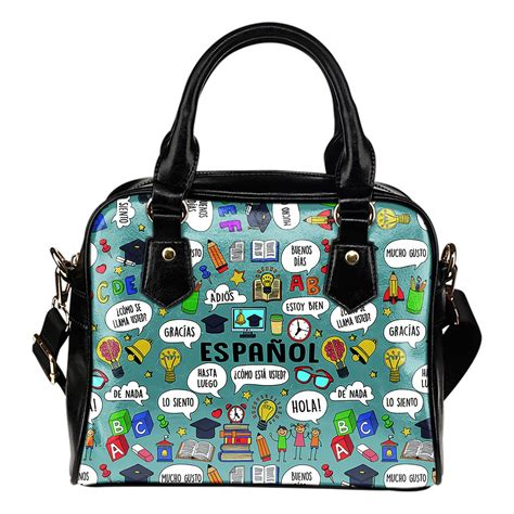 spanish language gifts presents and products hola tote spanish teacher handbag groove bags