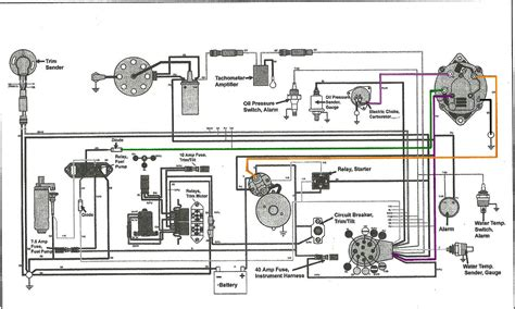volvo penta wiring diagram alternater wiring diagram
