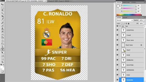 how to make your own ultimate team card how to make a custom fifa 14 ultimate team card