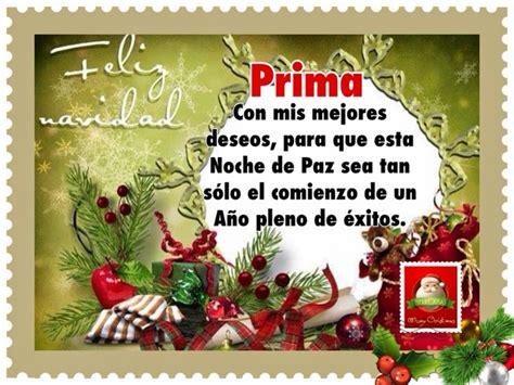 imagenes feliz navidad prima pensamientos de la vida diaria feliz navidad prima
