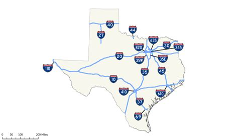 map of texas interstates file texas interstates map 2011 svg wikimedia commons
