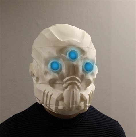 Masker 3d 213 you can now 3d print your own mask of the third from destiny 3dprint the