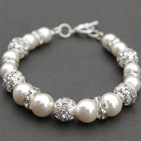 jewelry tattoo manila sparkling ivory pearl bracelet bling wedding jewelry by