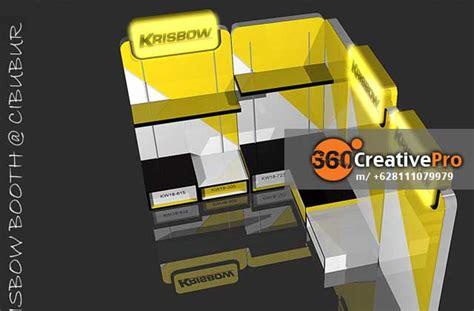 desain layout event booth design krisbow6 dunia eo jakarta dunia eo jakarta