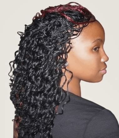 how to care a micro braid wet and wavy micro braids hairstyles how to style pictures video