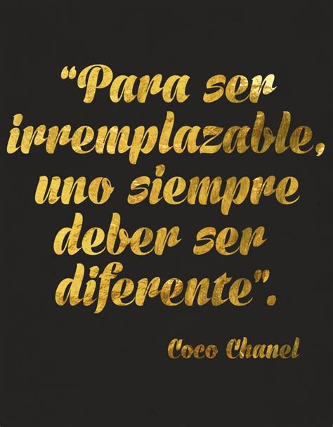 coco chanel biography in spanish coco chanel quote frases pinterest tes stay weird