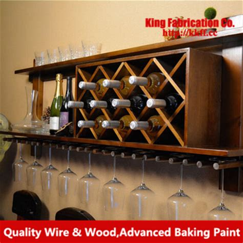 Cheap Wall Wine Racks by Get Cheap Wooden Wall Mounted Wine Rack Aliexpress