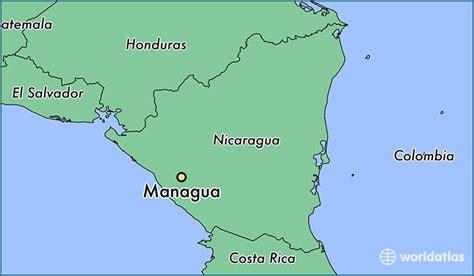 managua nicaragua map where is managua nicaragua managua managua map