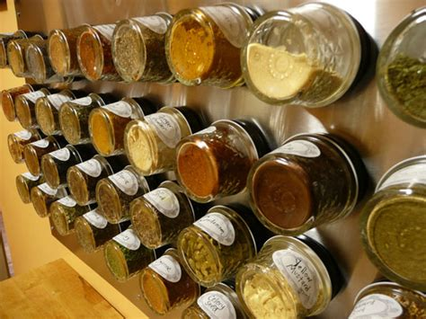 diy baby food jar spice rack unique ways to store spices the sobremesathe sobremesa