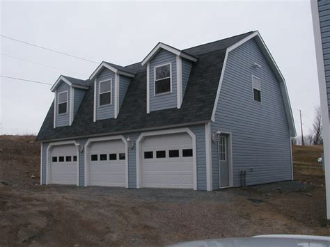 gambrel garages gambrel garage traditional garage and shed