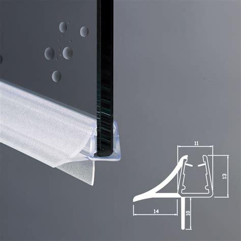 vetri per docce gocciolatoio per box doccia per vetri di spessore 6 e 8 mm