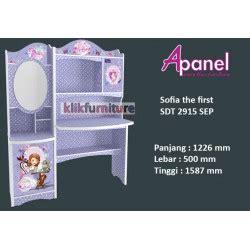 Meja Belajar Sofia furniture anak sofia princess apanel