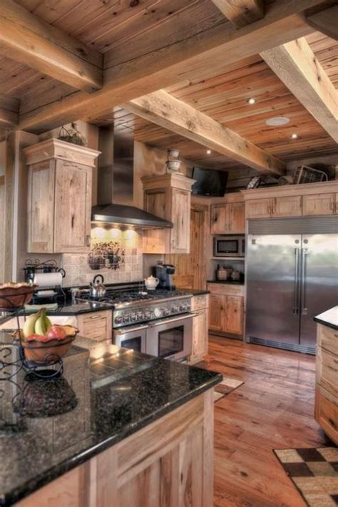 Re Home Kitchen Design 36 Chalet Kitchen Designs That Inspire Comfydwelling