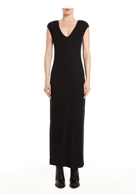 Dress Rayon Spandex wang rayon spandex v neck dress in