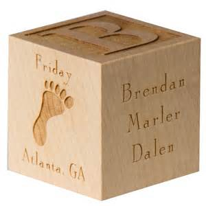 personalized wooden gifts personalized baby block new baby gift newborn baby gift