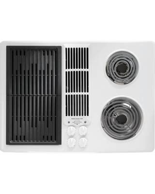 jenn air electric cooktop with grill don t miss this deal jenn air 30 quot electric downdraft