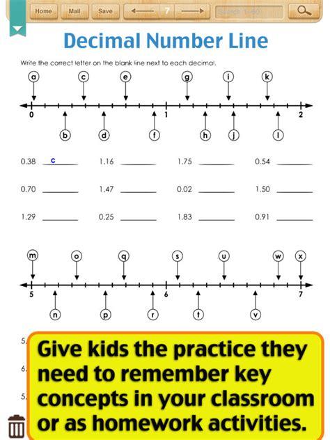 decimal number line printable worksheets decimals on a number line worksheets worksheets