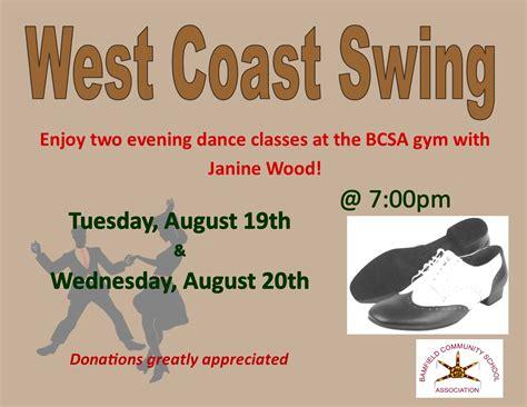 swing west west coast swing bcsa