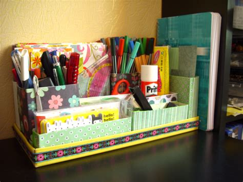 diy desk organizers 15 creative and useful diy desk organizers