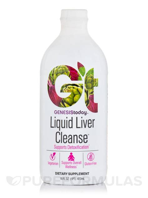 Liquid Detox Diet Cleanse by Liquid Liver Cleanse 16 Fl Oz 473 Ml