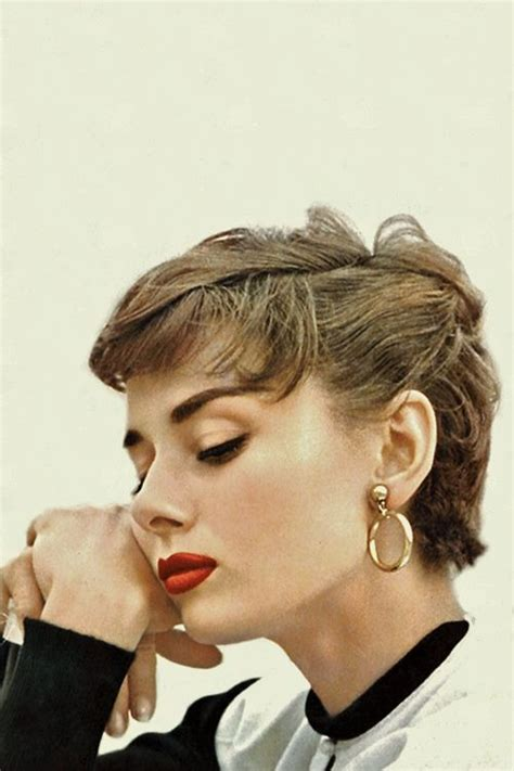 how to style audrey hepburn sabrina pixie cut audrey hepburn perfect pixie with light brown golden hair