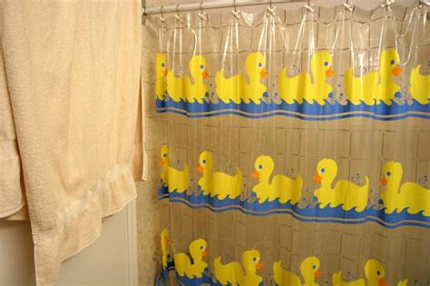 duck fabric shower curtain rubber duck fabric shower curtain office and bedroom