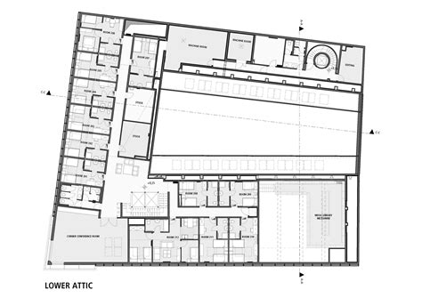 layout of a house song gallery of budapest music center art1st design studio 30
