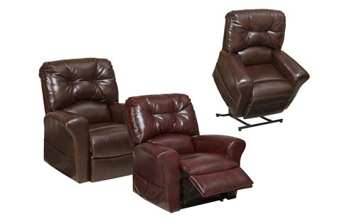 power lift recliner catnapper landon power lift chair in leather medicare lift