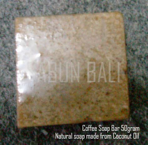 Handmade Soap Sabun Bali July kopi soap sabun