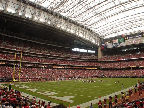 houston texans stadium panoramio photo of reliant stadium roof closed houston
