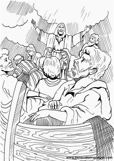 printable coloring pages jesus calms jesus calms the coloring pages coloring home