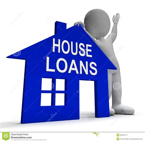 bank lending house loans calculator tablet shows mortgage and bank