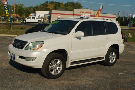 Lexus Suv Gx470 by 2004 Lexus Gx470 White Used Suv Sale
