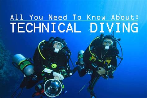 tech dive what is technical diving dive in