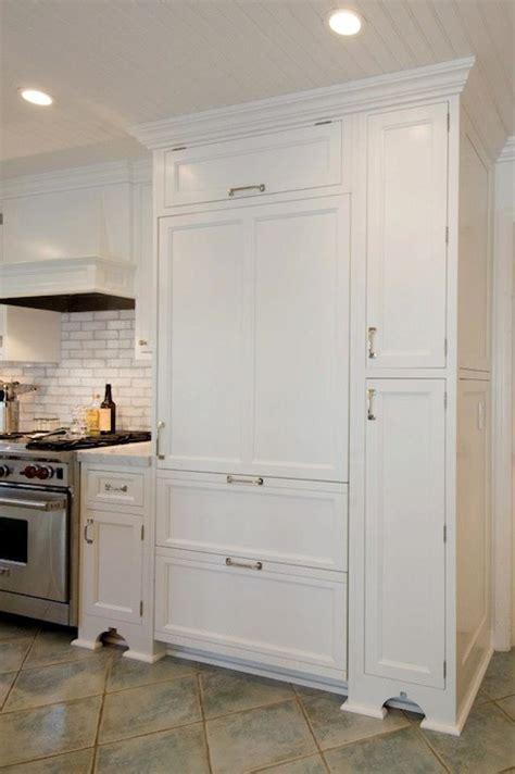 Paneled Refrigerator   Traditional   kitchen   Hampton Design