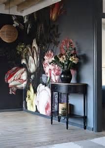 Hand Painted Murals On Walls Organic Interior Design Florals 20 Pics Messagenote