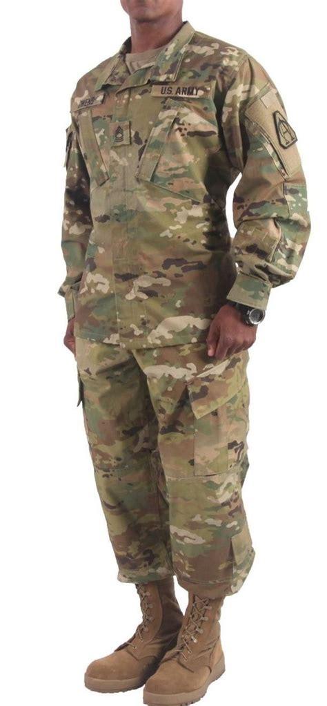 army uniform pattern name scorpion w2 camo army combat usgi military ocp uniform