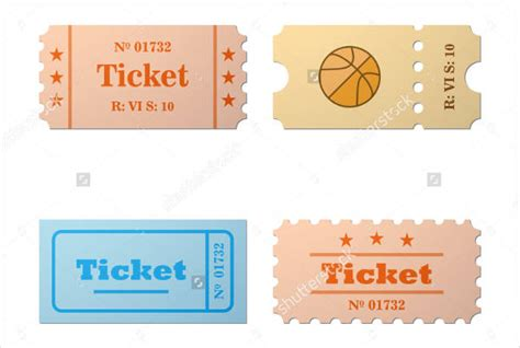 sport ticket template 70 ticket templates