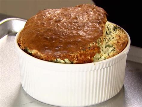 spinach cheese souffle spinach and cheddar souffle recipe ina garten food network