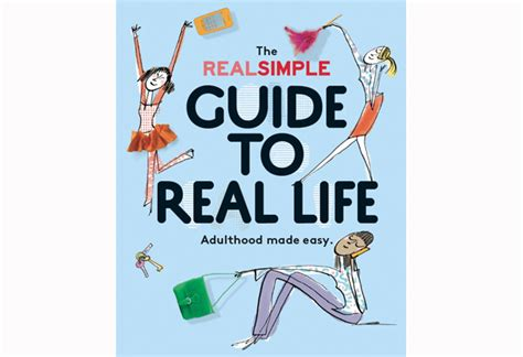 real simple design the bookshelf quot the real simple guide to real life quot by