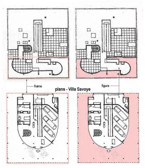 villa savoye floor plans arch 329 yu le corbusier alvar aalto and mies van der