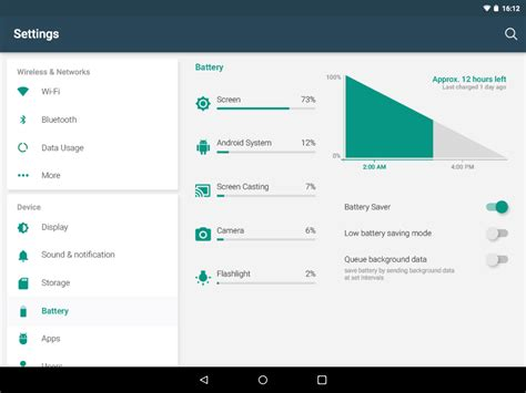 Android Layout Large Land Tablet | android lollipop settings tablet layout concept materialup