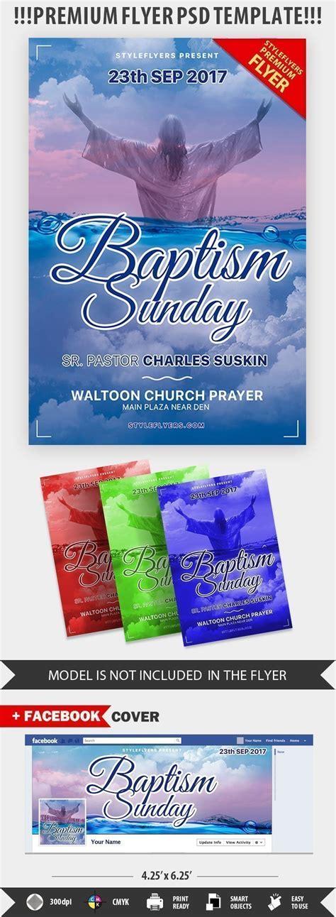 Baptism Sunday Psd Flyer Template 20798 Styleflyers Baptism Template Psd