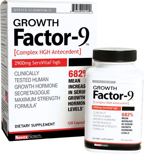 factor 9 supplement growth factor 9 by novex biotech at bodybuilding